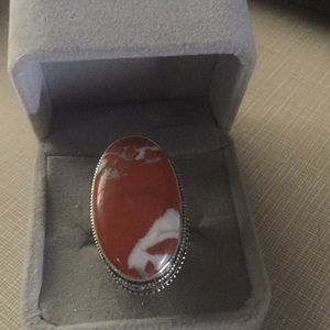 Jewelry - Astonishing Red Jasper stylish Ring